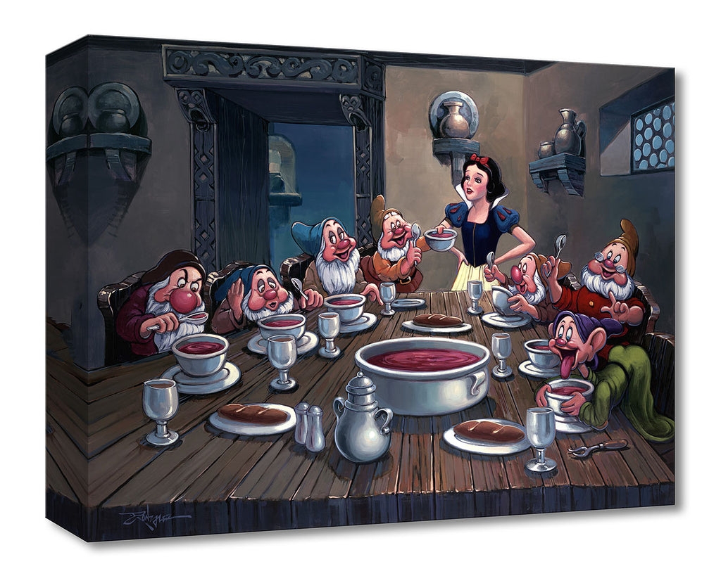 Disney Fine Art - Soup for Seven - Treasures On Canvas