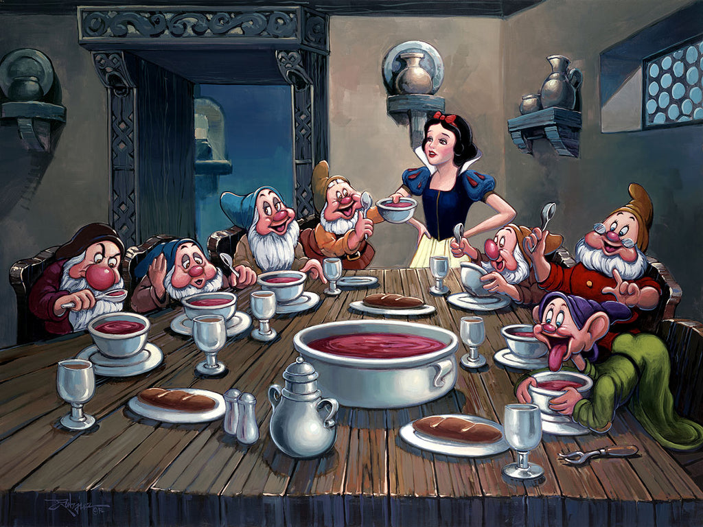 Disney Fine Art - Soup for Seven