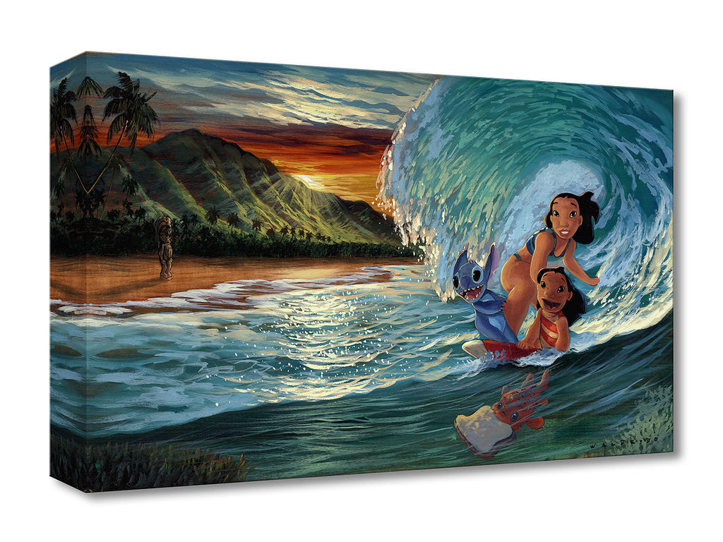 Disney Fine Art - Morning Surf - Treasures On Canvas