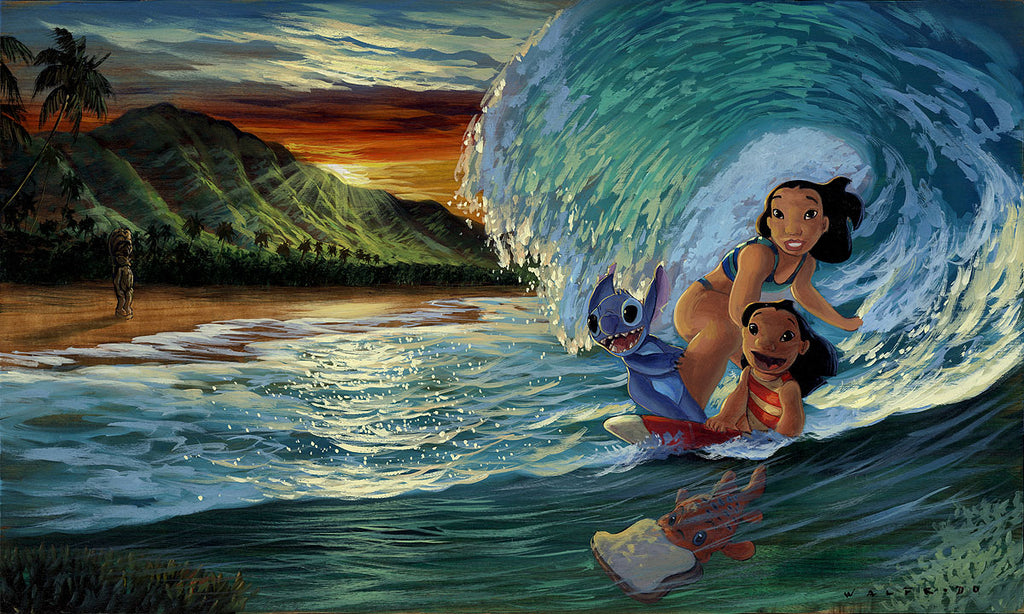 Disney Fine Art - Morning Surf