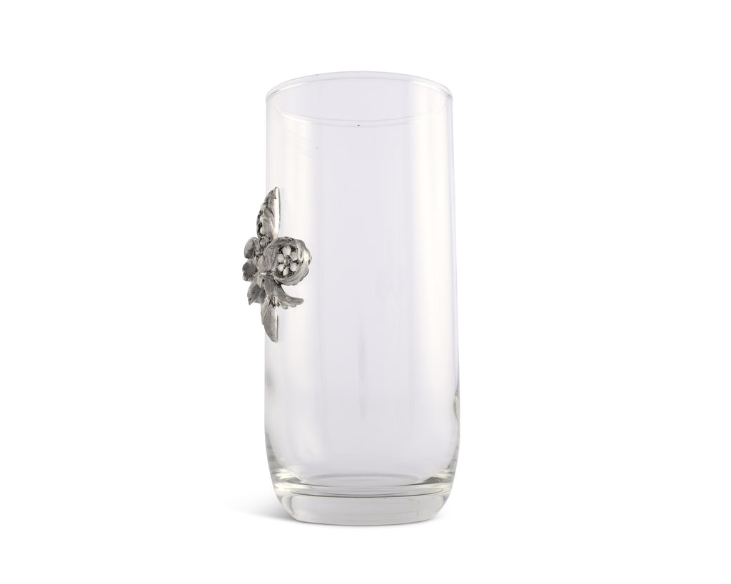 Vagabond House Provencal Fleur De Lis Ice Tea Glass E407FL