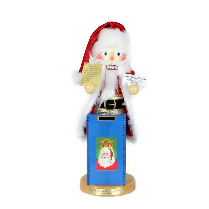 Steinbach Yes Virginia Santa Nutcracker ES1982