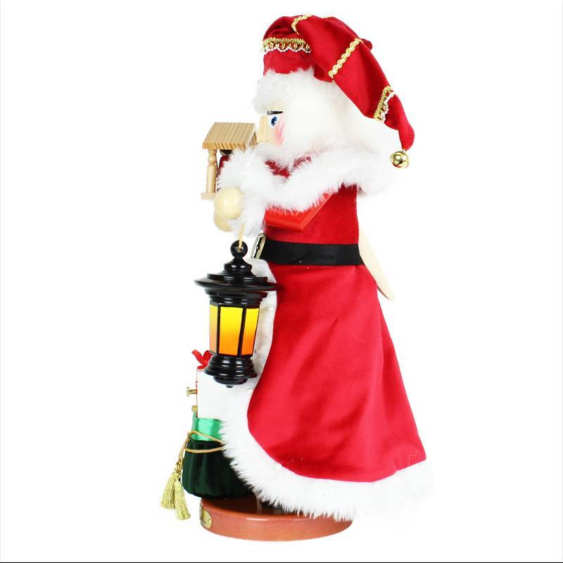 Steinbach Nativity Santa Musical Nutcracker ES3010