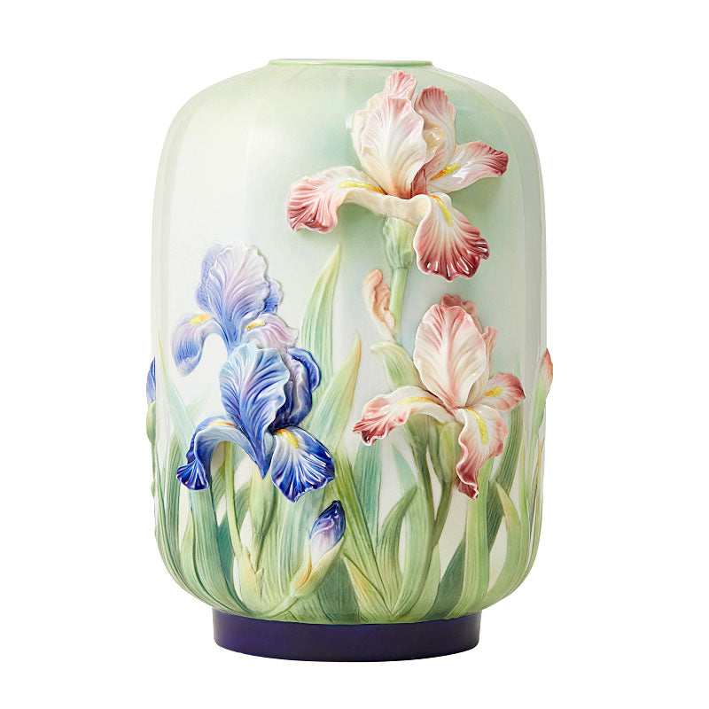 Franz Collection Blessings of the Iris Porcelain Vase FZ03737