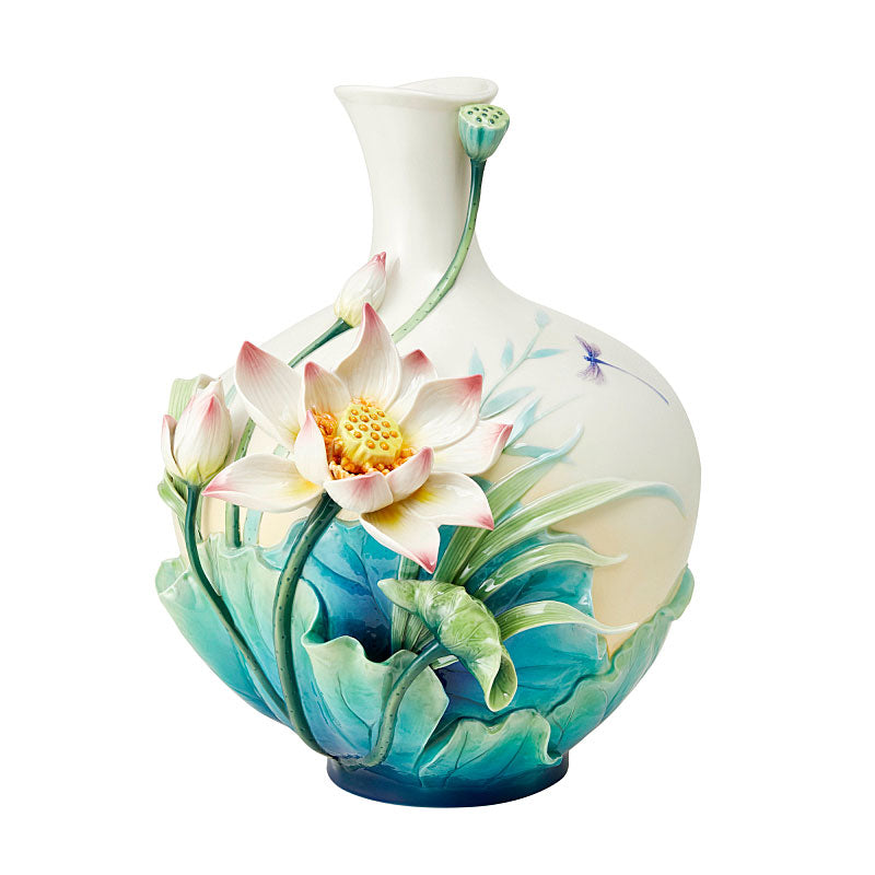 Franz Collection Lotus Harmony Vase (LE 988) FZ03828