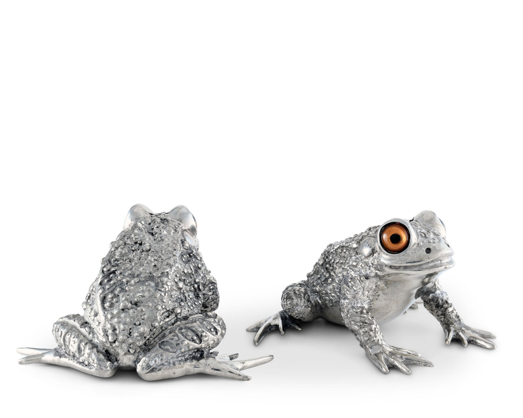 Vagabond House Garden Friends Toad Salt and Pepper G116TD