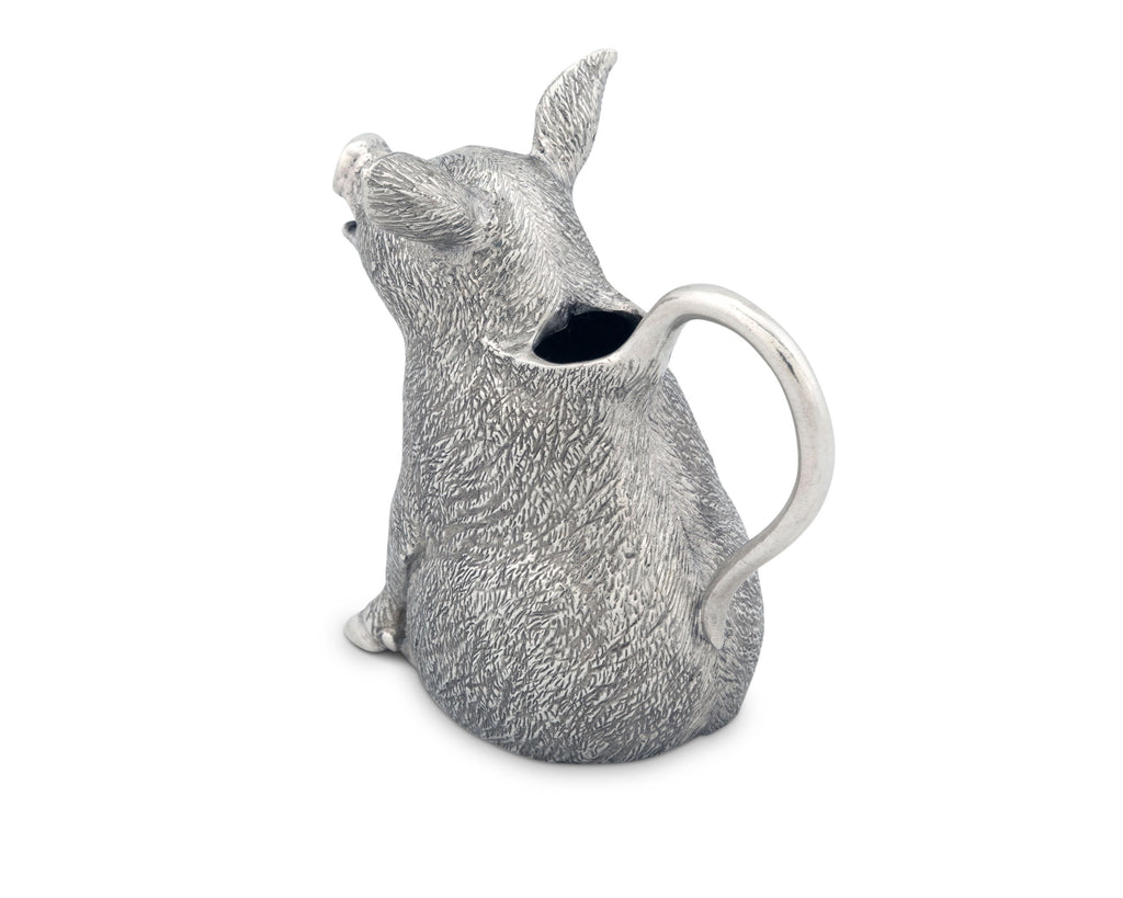 Vagabond House Garden Friends Happy Pig Creamer G117P