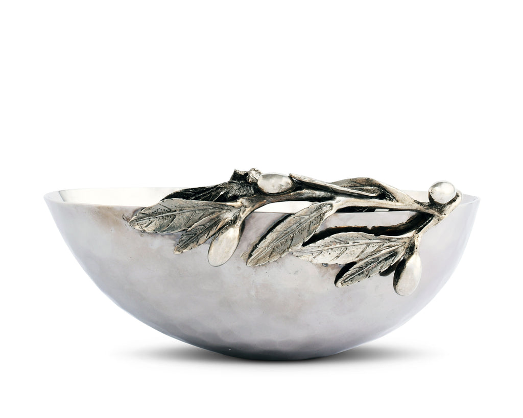 Vagabond House Olive Grove Olive Single Serving Bowl Steel G813OS