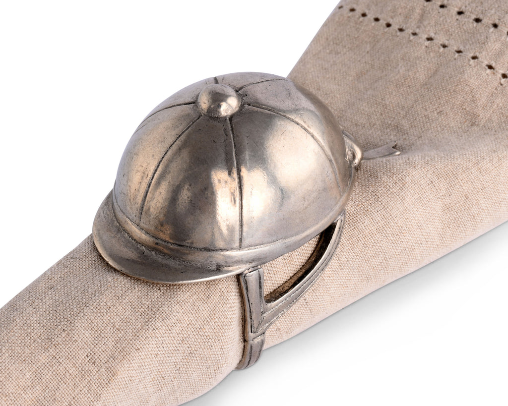 Vagabond House Equestrian Riding Hat Napkin Ring H115H-1