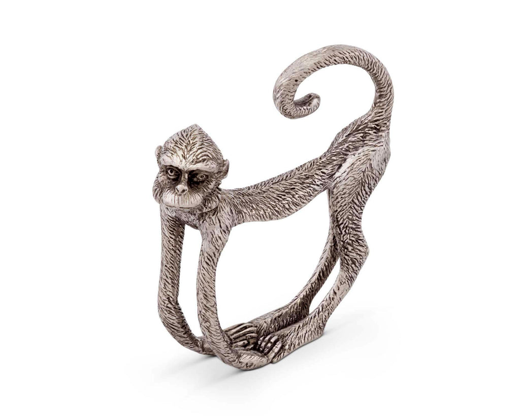 Vagabond House Safari Monkey Napkin Ring J116M-1