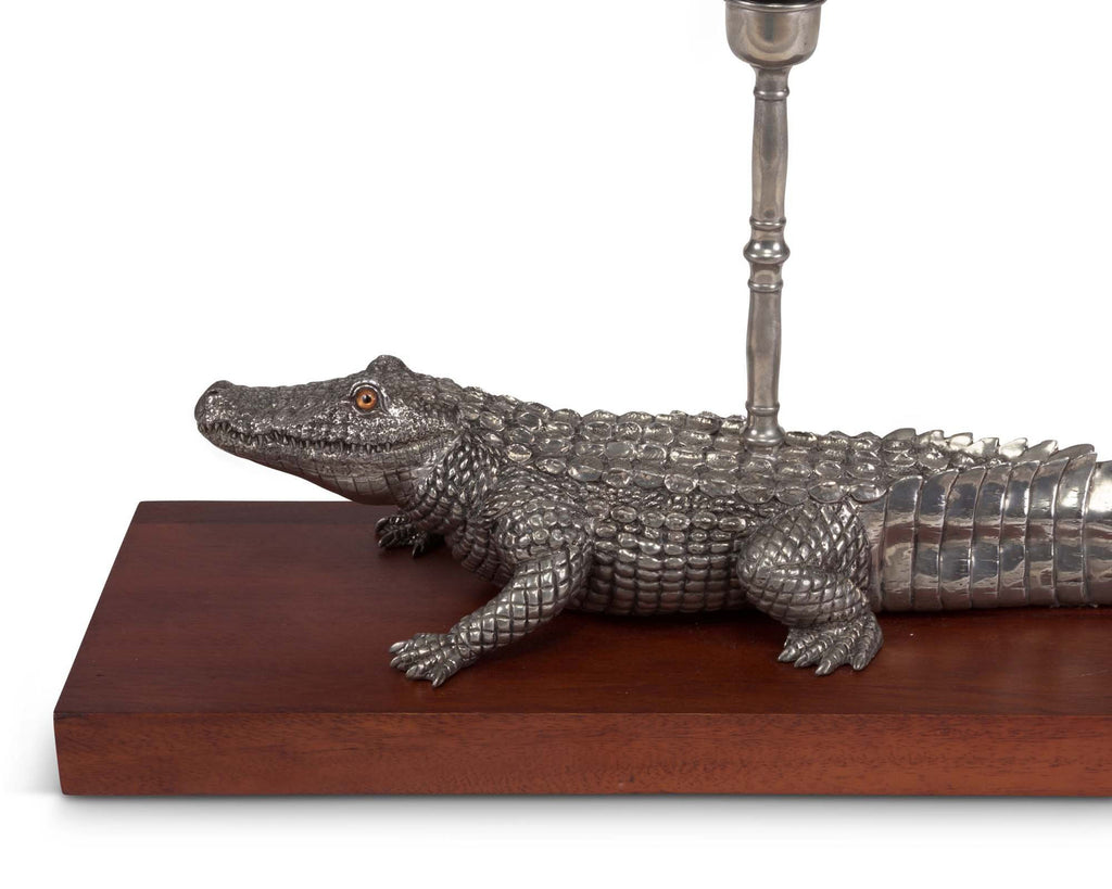 Vagabond House Tropical Tales Alligator Lamp J770A