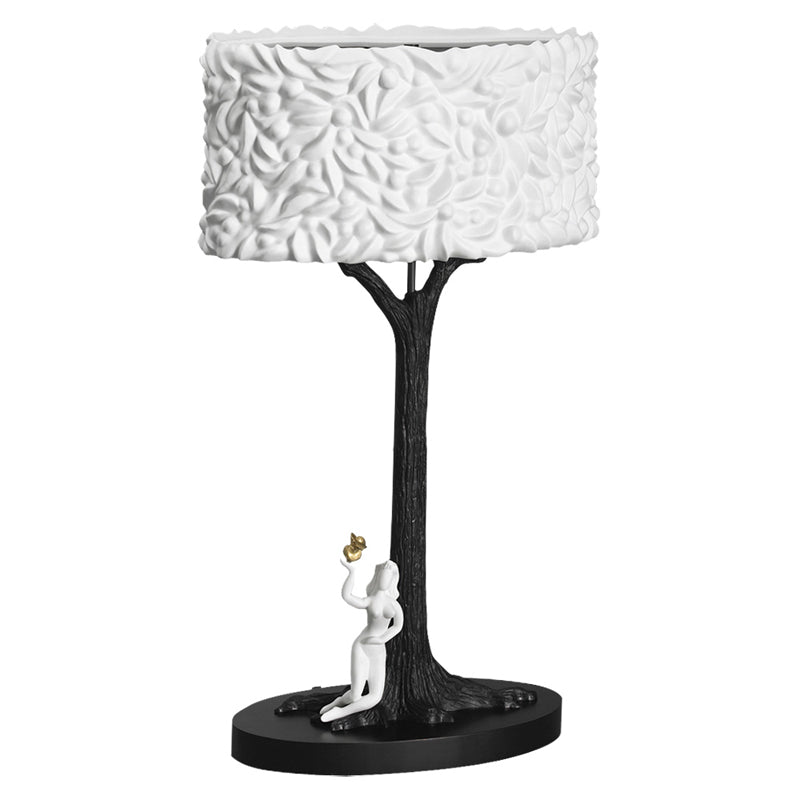 Jean Boggio Porcelain Bronze Table Lamp JB00099