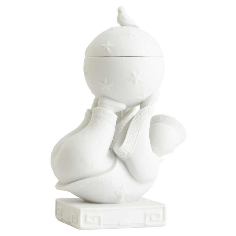 Jean Boggio An Boy & Ball White Figurine JB00707W