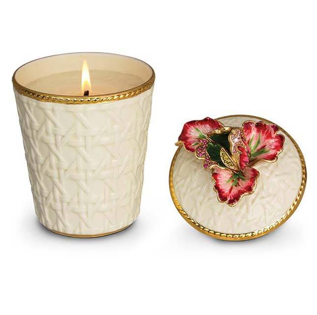 Jay Strongwater Margot Tulip Candle SDH6607-289