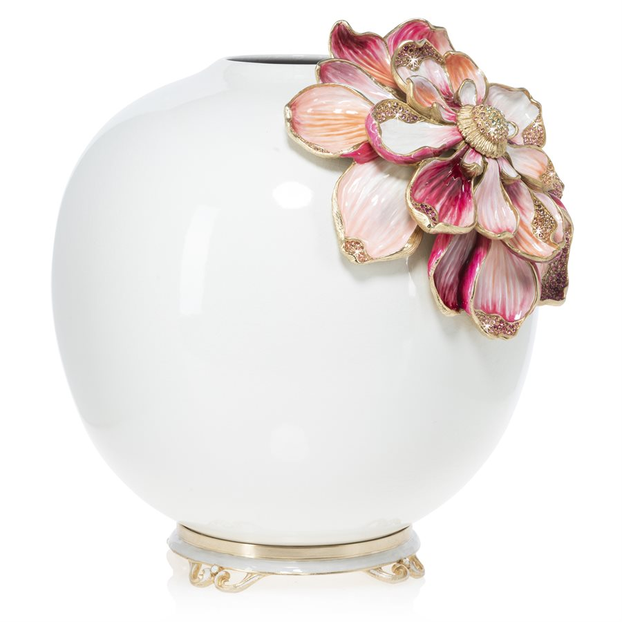 Jay Strongwater Dolly Magnolia Vase SDH2528-256