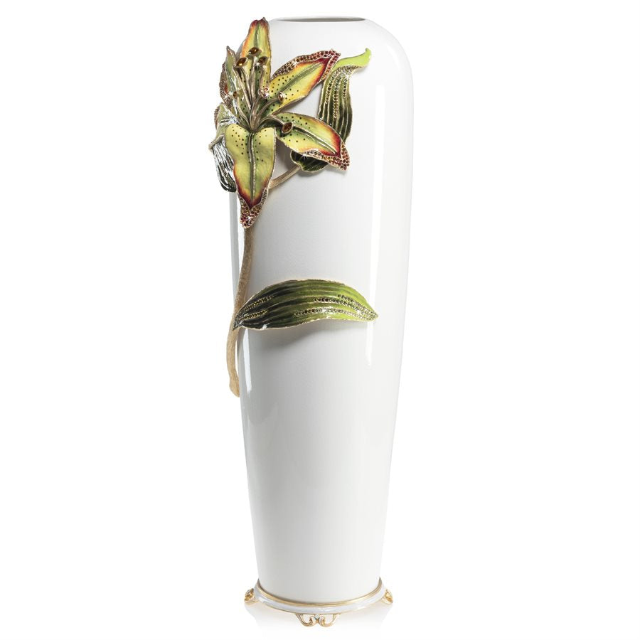 Jay Strongwater Luna Lily Vase SDH2527-256