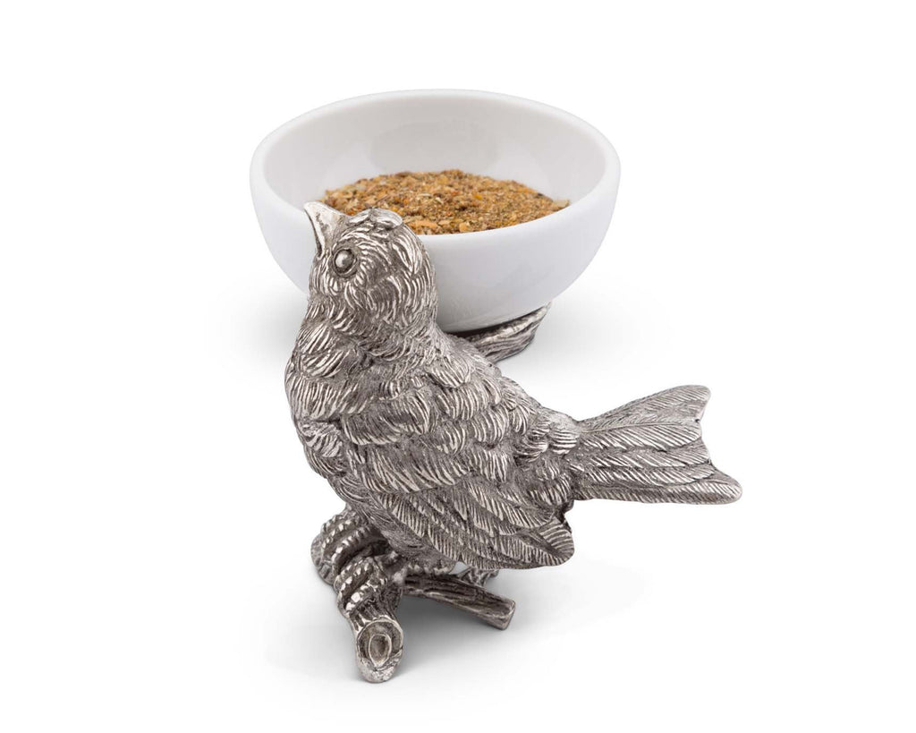 Vagabond House Song Bird Song Bird Salt Cellar K125BN