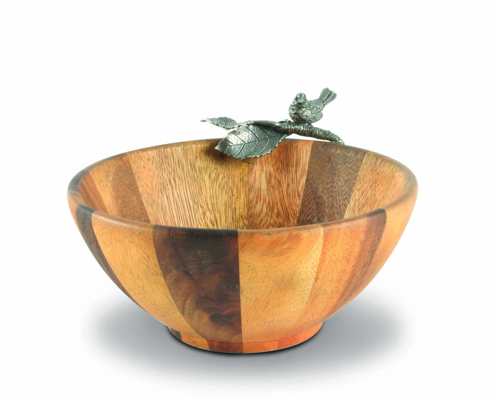 Vagabond House Song Bird Song Bird Salad Bowl Single Serve K212BS-1
