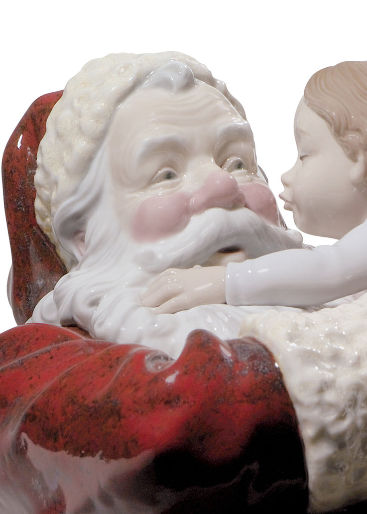 Lladro Santa I've Been Good Figurine 01001960