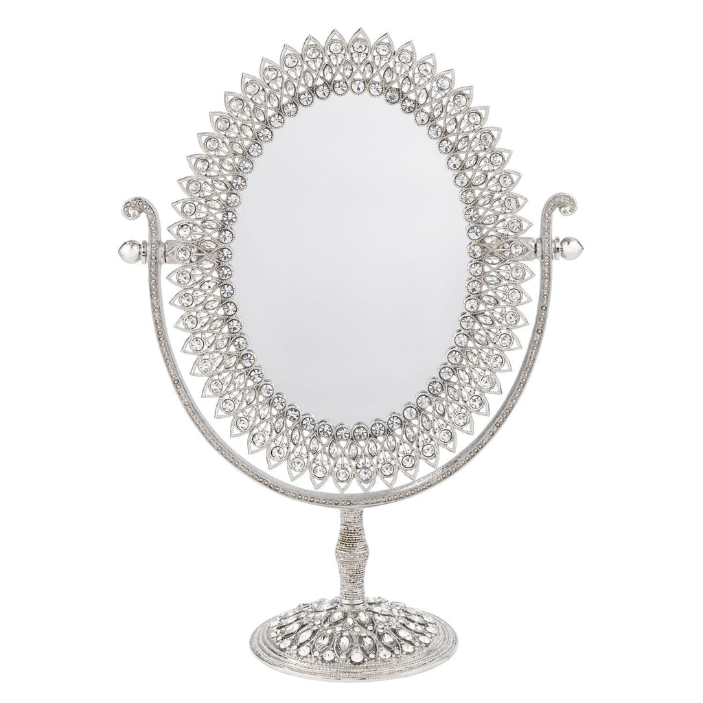 Olivia Riegel Oval Magnified Standing Mirror MR1301