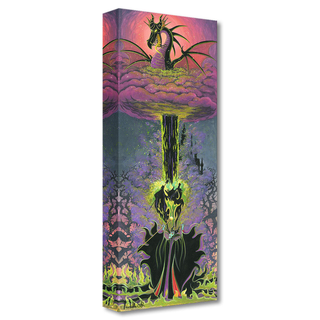 Disney Fine Art - Maleficent's Transformation