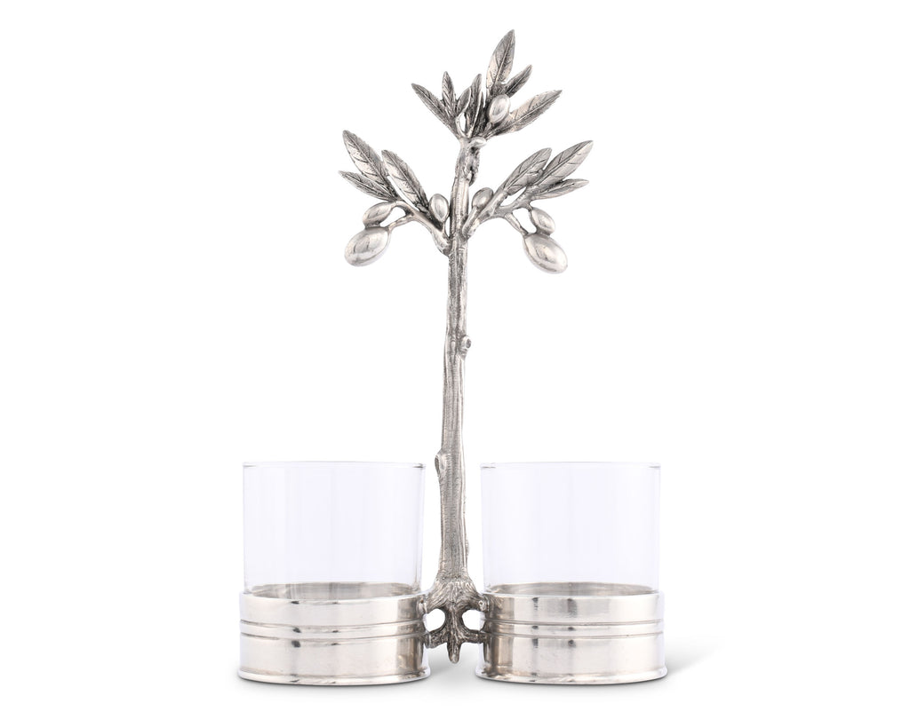 Vagabond House Olive Grove Olive Condiment Server O415O