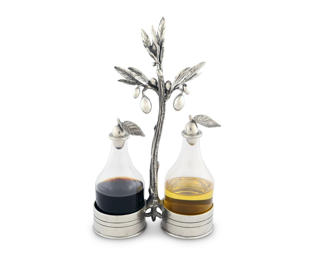 Vagabond House Olive Grove Olive Oil & Vinegar Set O417O