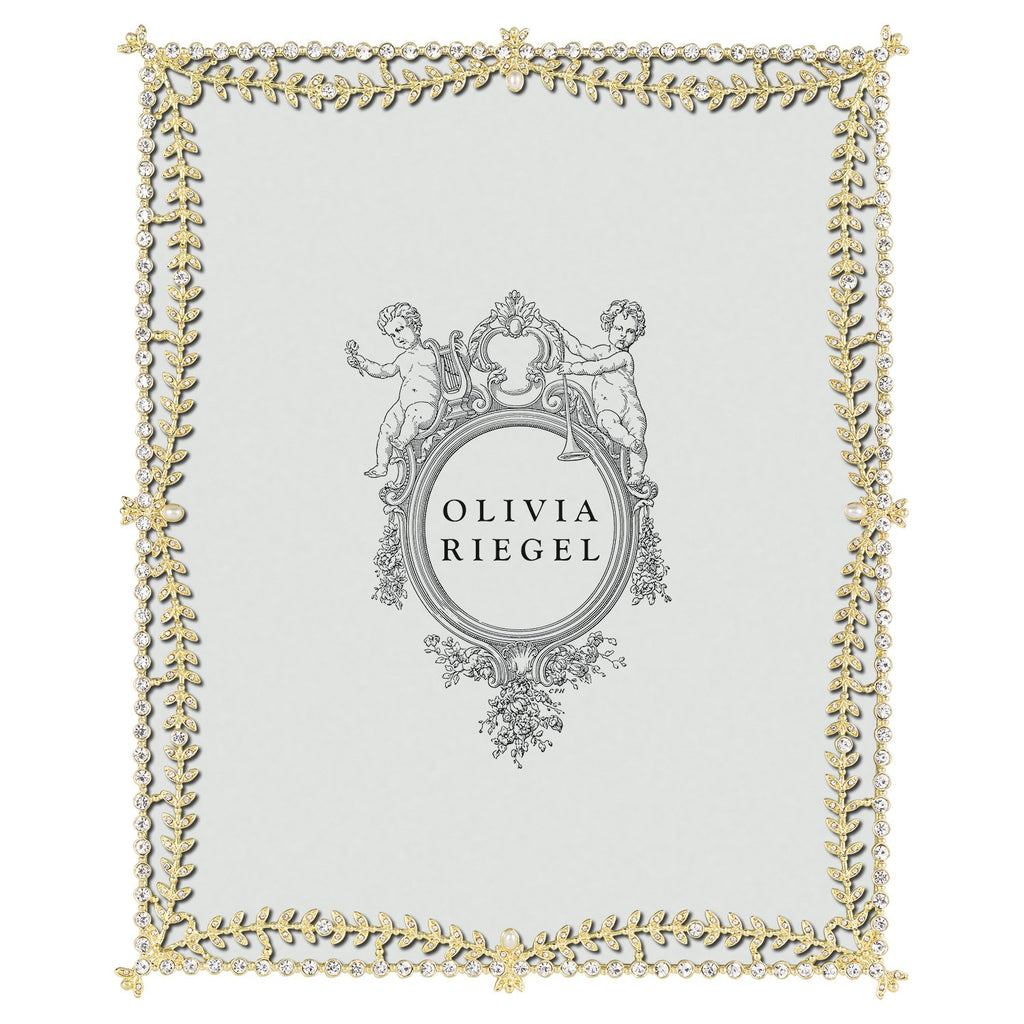 Olivia Riegel Gold Kensington 8 x 10 Frame RT0199