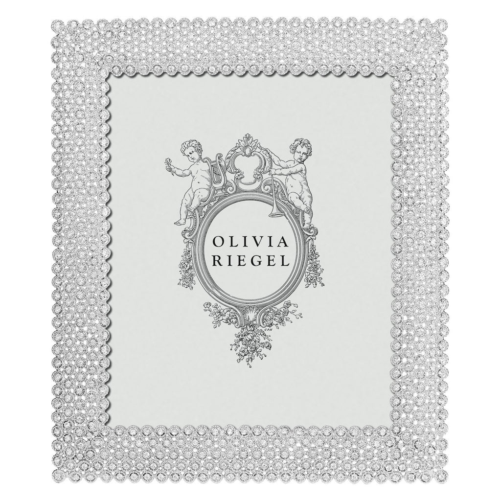 Olivia Riegel Silver Alexis 8 x 10 Frame RT1342