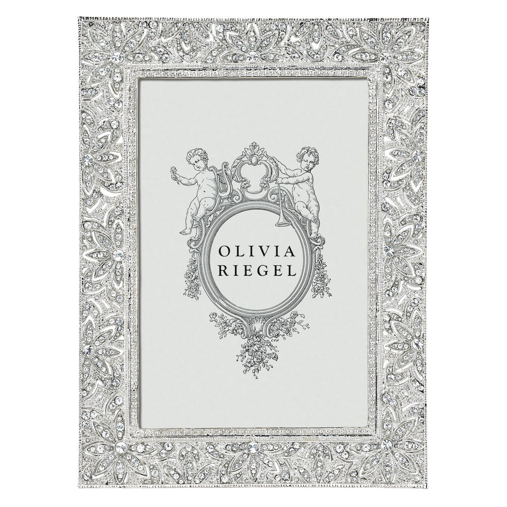 Olivia Riegel Silver Windsor 4 x 6 Frame RT1736