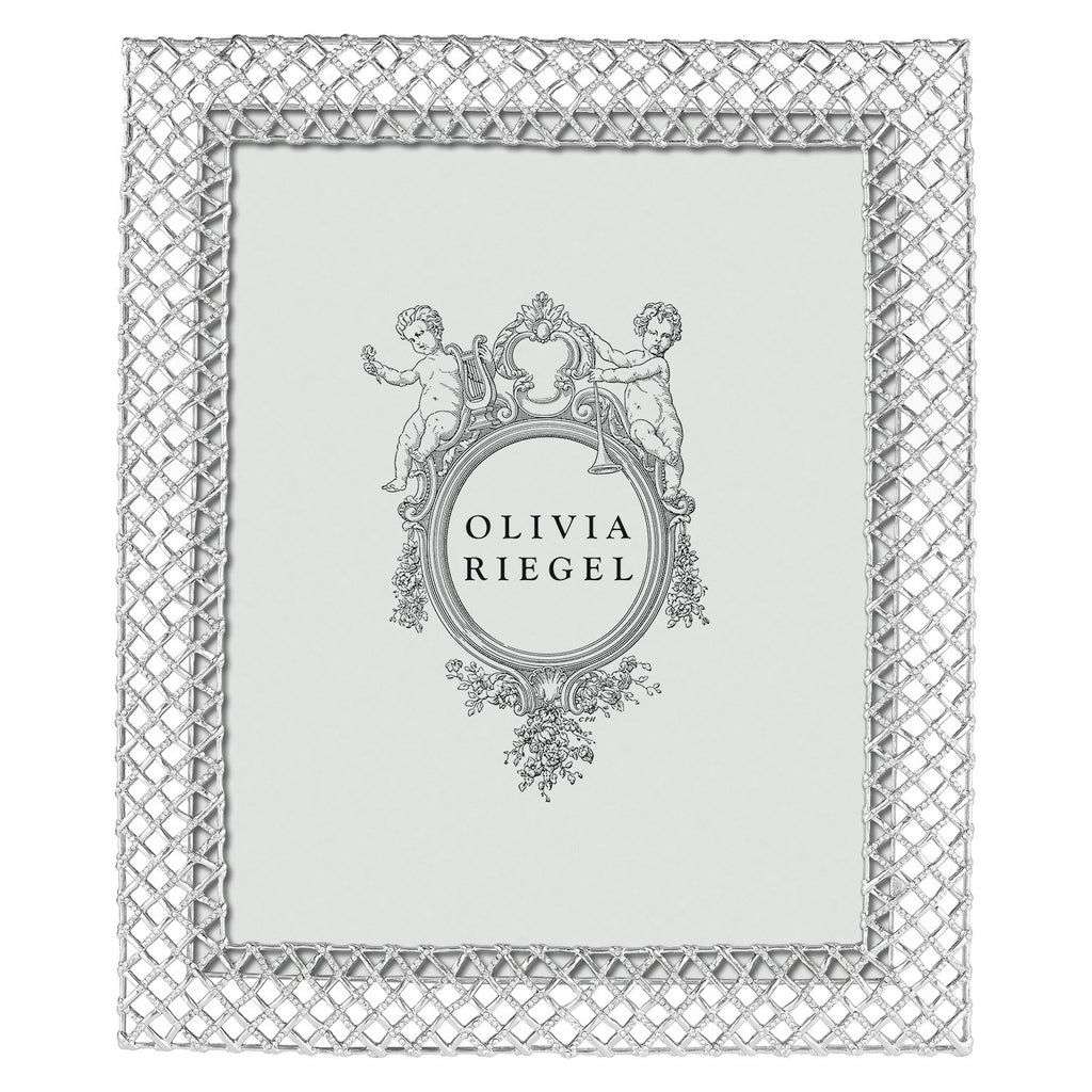 Olivia Riegel Silver Tristan 8 x 10 Frame RT2382