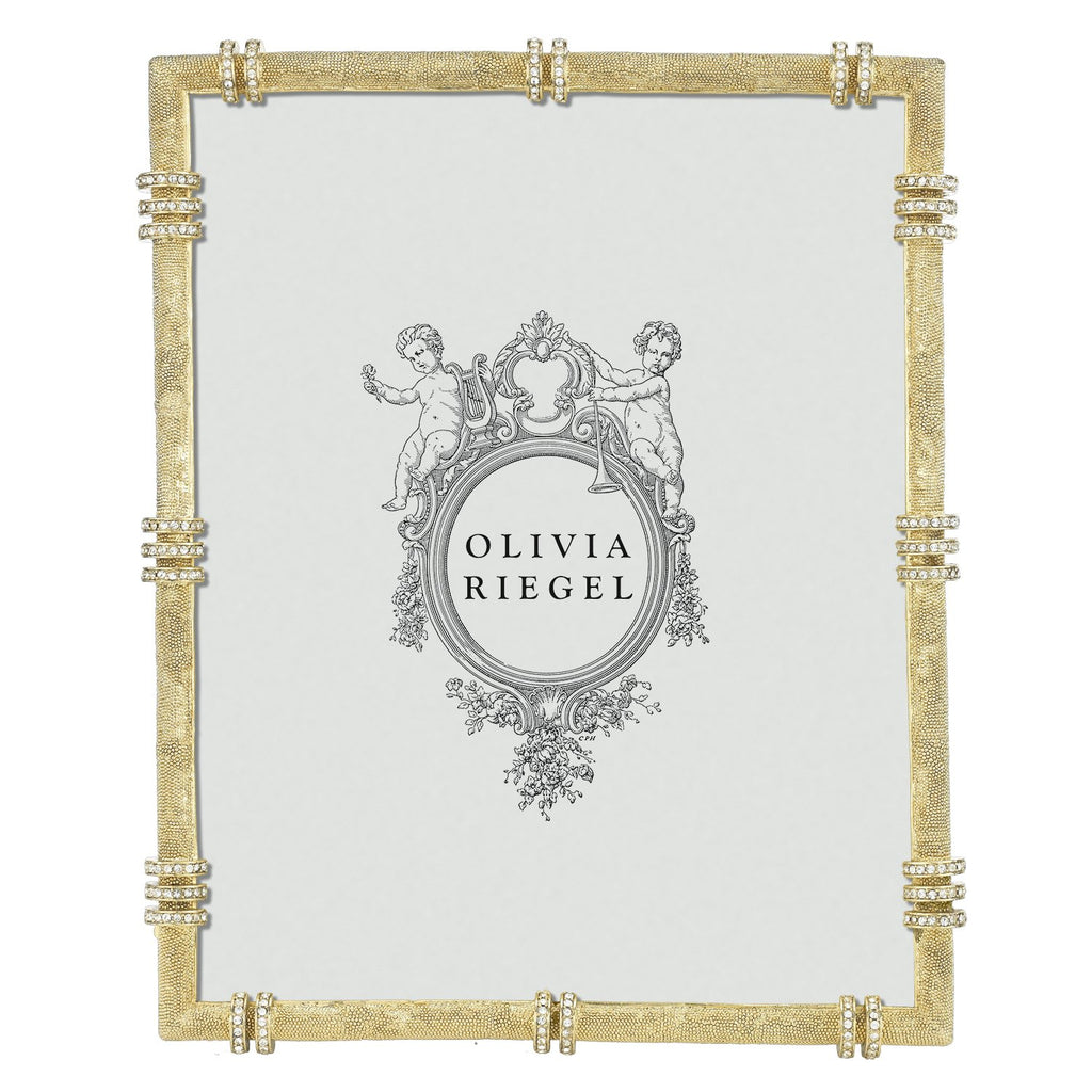 Olivia Riegel Gold Cassini 8 x 10 Frame RT8828
