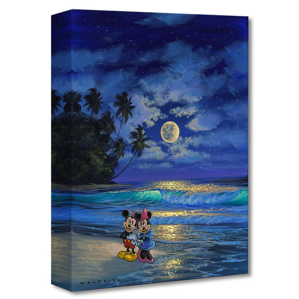 Disney Fine Art - Romance Under the Moonlight