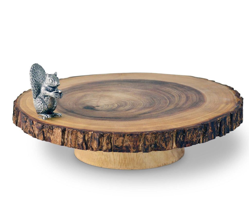 Vagabond House Woodland Creatures Squirrel Cheese Stand S275S