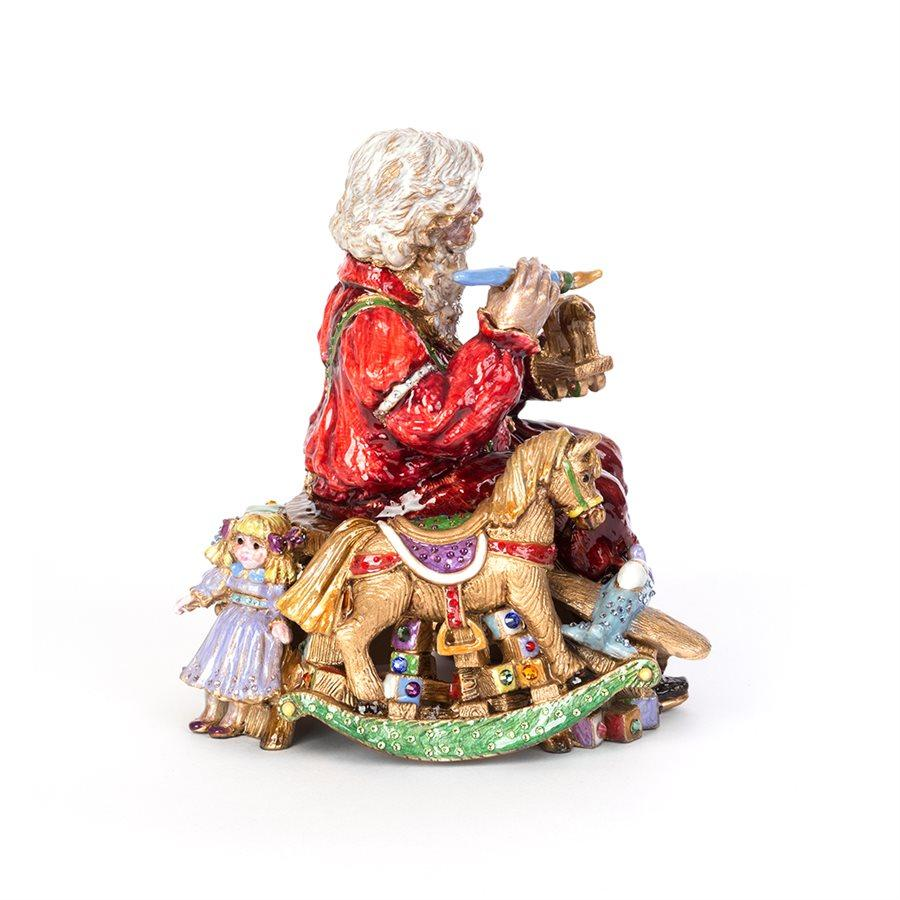 Jay Strongwater Santa's Musical Workshop Figurine SDH1892-250
