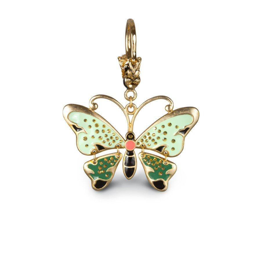 Jay Strongwater Melissa Butterfly Key Chain SDH6603-279