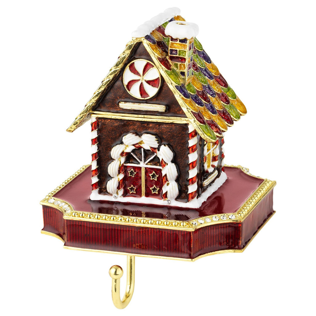 Olivia Riegel Gingerbread Box Stocking Holder SH2643