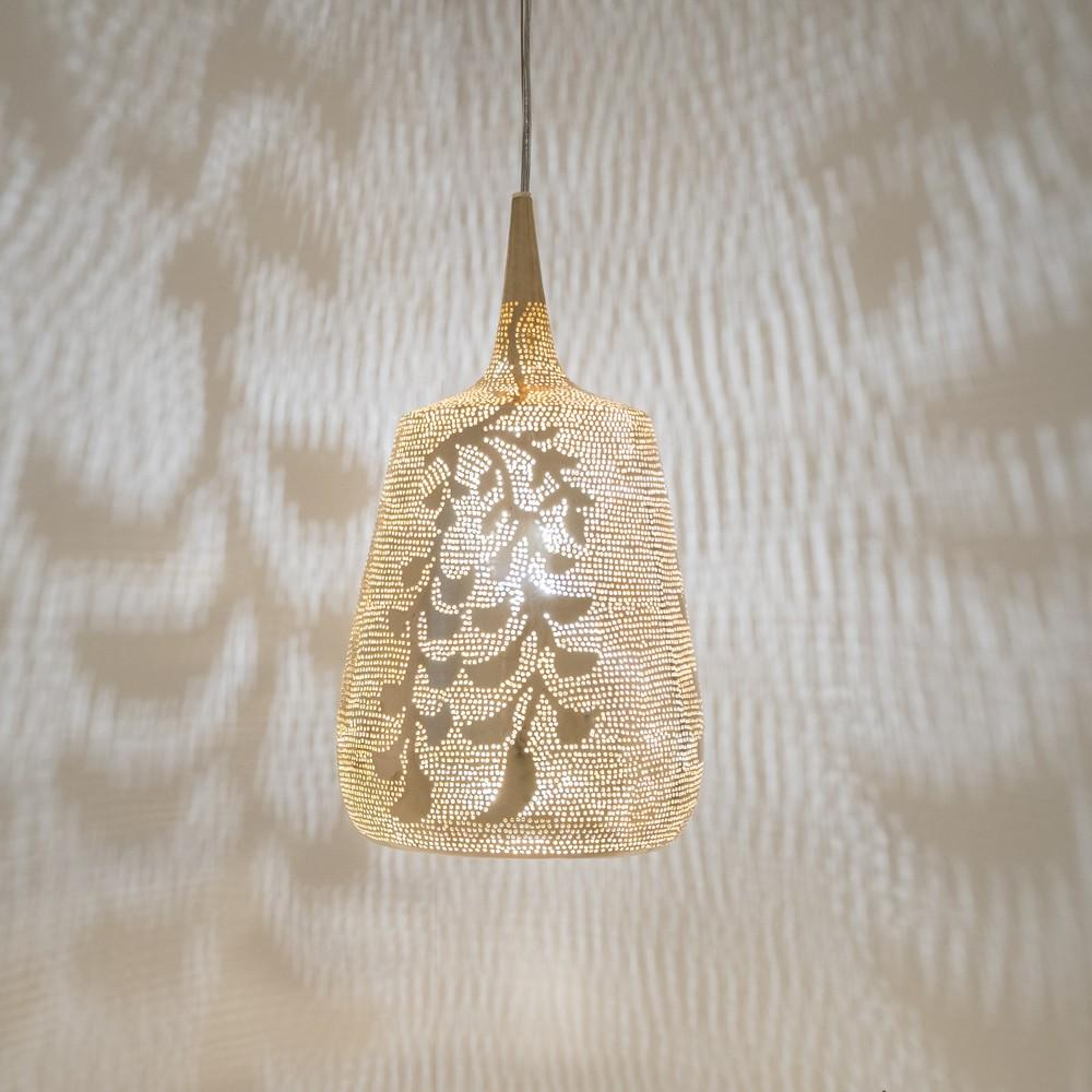 Zenza Trophy Blossom Small Gold Pendant Light TROBLSMGOHL