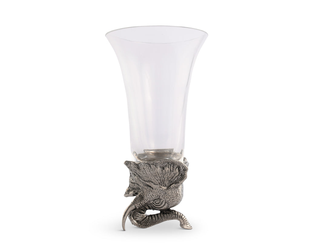 Vagabond House Safari Elephant Stirrup Cup V942E-1