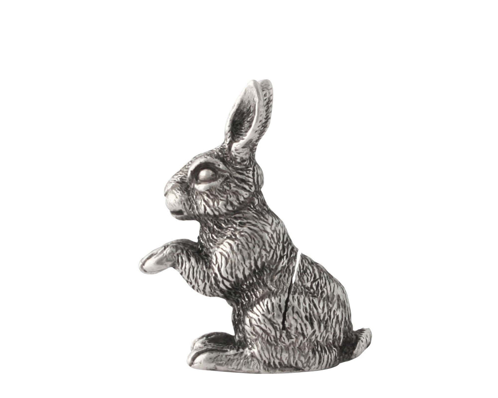 Vagabond House Garden Friends Rabbit Place Card Holder V959R-1