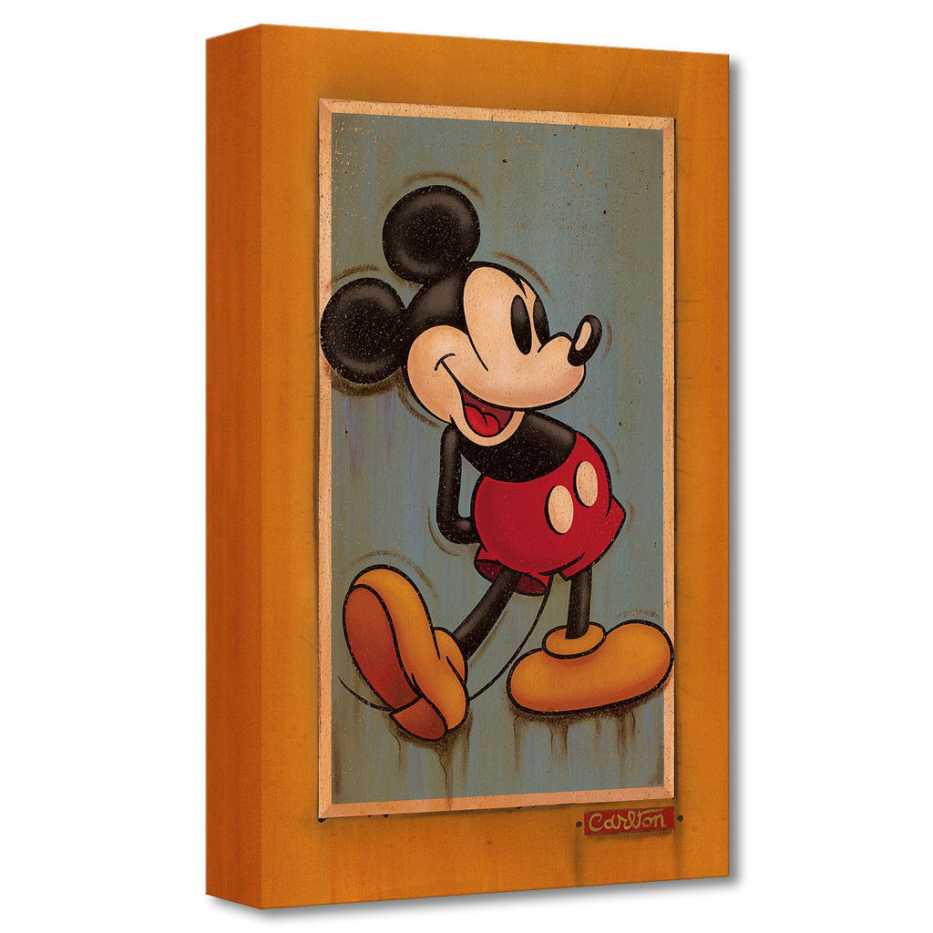 Disney Fine Art Vintage Mickey