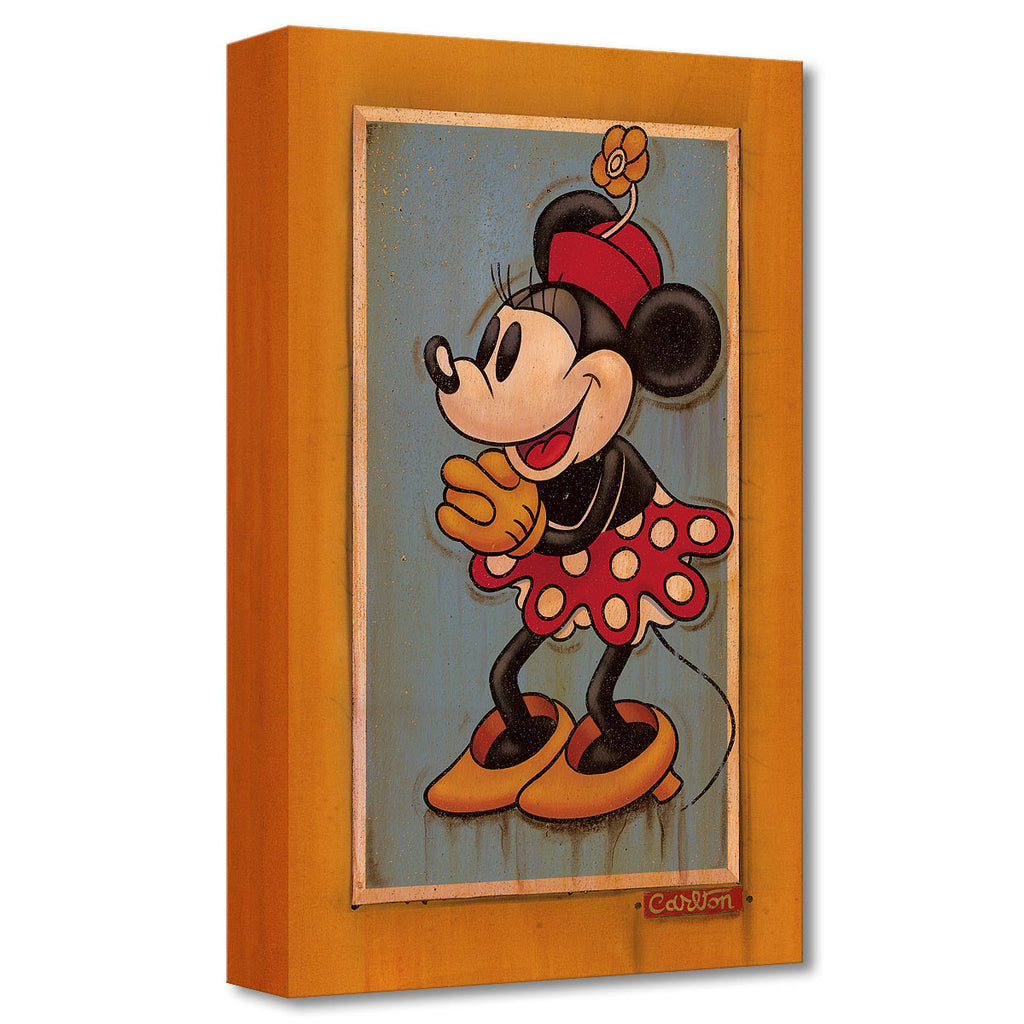 Disney Fine Art Vintage Minnie