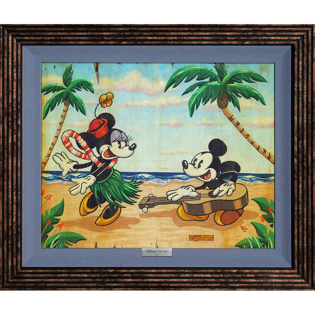 Disney Fine Art - Welcome to the Islands