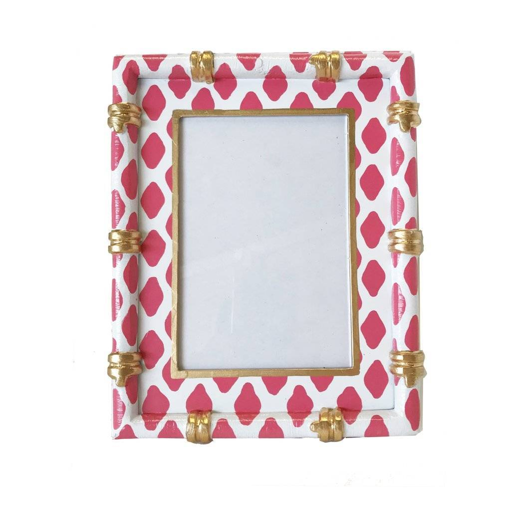 Dana Gibson Bamboo in Parsi Pink Picture Frame