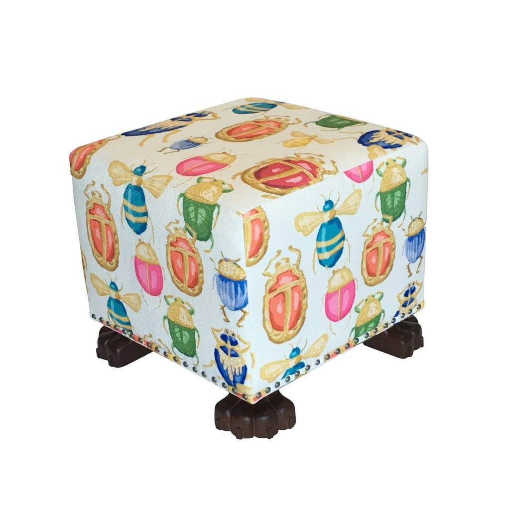 Dana Gibson Buggy Cottage Stool