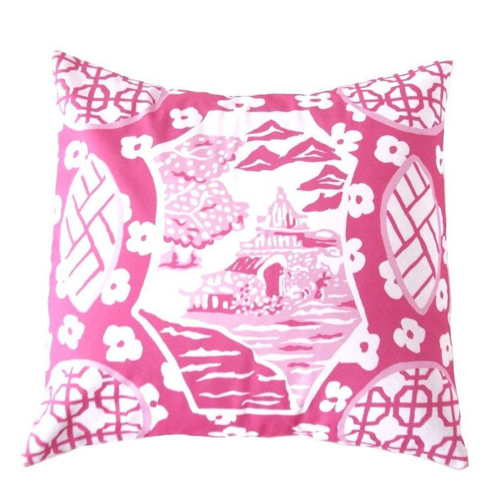Dana Gibson Canton in Pink Pillow