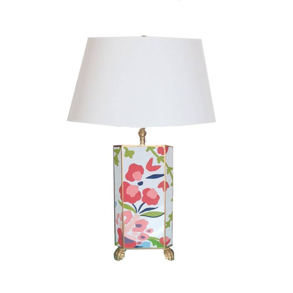 Dana Gibson Chintz Lamp Small