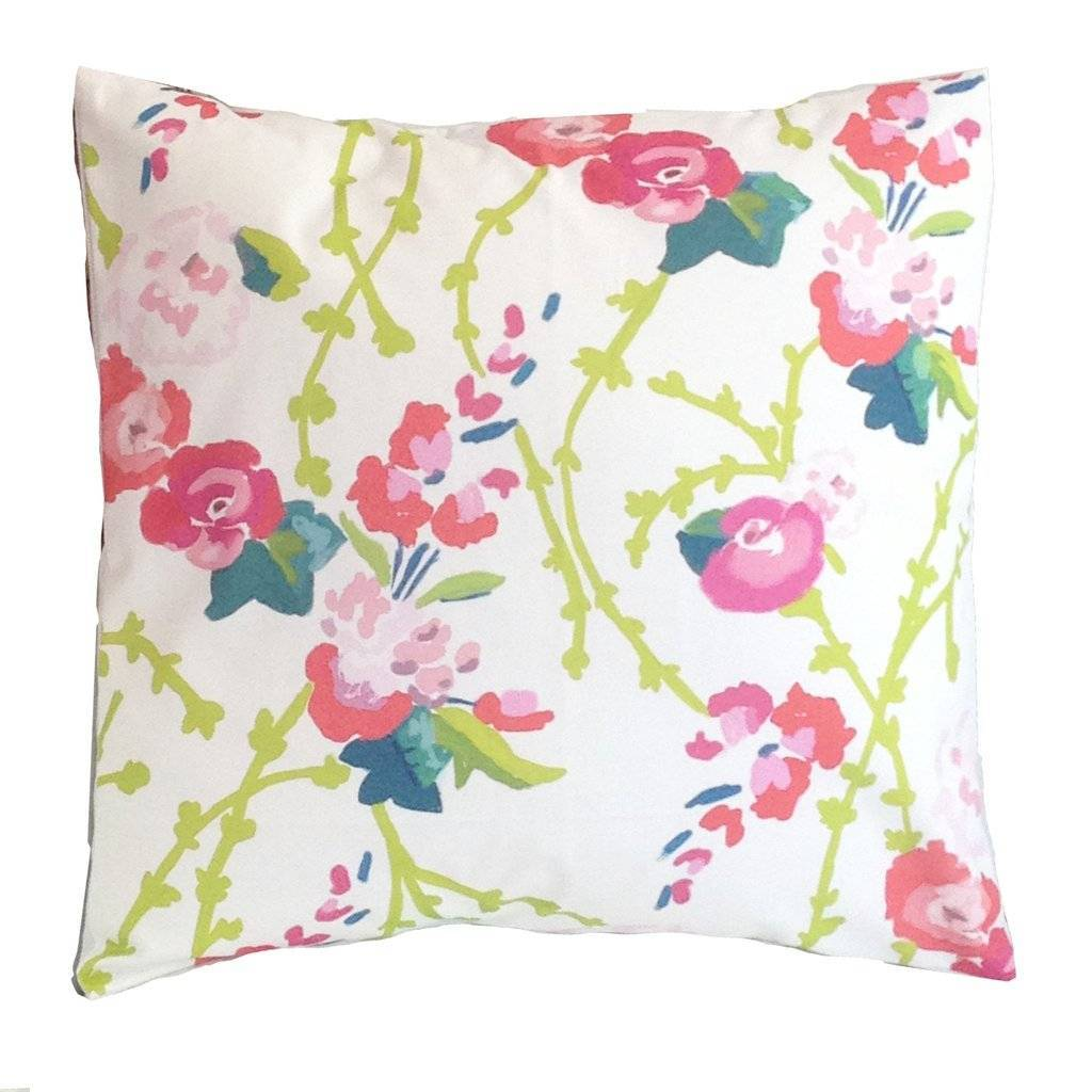 Dana Gibson Chintz Pillow