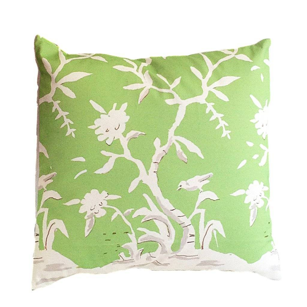 Dana Gibson Cliveden in Green Pillow