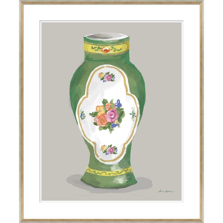 Dana Gibson Derby Vase in Green